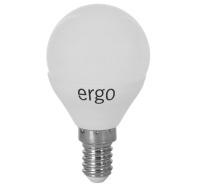 Светодиодная лампа Ergo Standard G45 E14 4W 220V нейтральный белый 4100K
