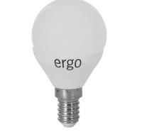 Светодиодная лампа Ergo Standard G45 E14 4W 220V теплый белый 3000K