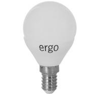 Светодиодная лампа Ergo Standard G45 E14 5W 220V теплый белый 3000K