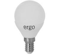 Светодиодная лампа Ergo Standard G45 E14 6W 220V нейтральный белый 4100K