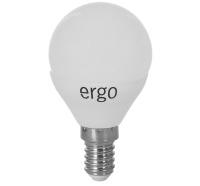 Светодиодная лампа Ergo Standard G45 E14 6W 220V теплый белый 3000K