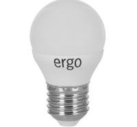 Светодиодная лампа Ergo Standard G45 Е27 4W 220V нейтральный белый 4100K