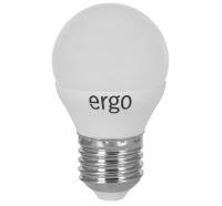 Светодиодная лампа Ergo Standard G45 Е27 4W 220V теплый белый 3000K