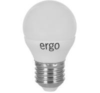 Светодиодная лампа Ergo Standard G45 Е27 5W 220V теплый белый 3000K