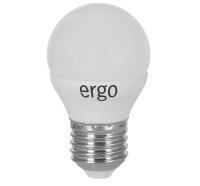 Светодиодная лампа Ergo Standard G45 Е27 6W 220V нейтральный белый 4100K