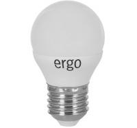 Светодиодная лампа Ergo Standard G45 Е27 6W 220V теплый белый 3000K
