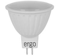 Светодиодная лампа Ergo Standard MR16 GU5.3 3W 220V теплый белый 3000K