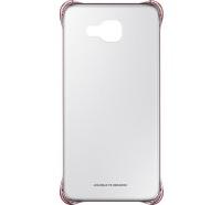 Чехол Samsung для смартфона Samsung A5 2016/A510 - Clear Cover (Золотистый розовый)