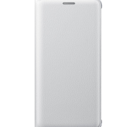 Чехол Samsung для смартфона Samsung A710 - Flip Wallet (Белый)