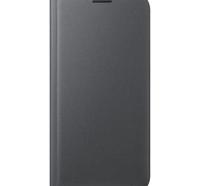 Чехол Samsung для смартфона Samsung S7 edge/G935 - Flip Wallet (Черный)