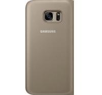 Чехол Samsung для смартфона Samsung S7/G930 - Flip Wallet (Золотистый)