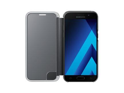 чехол для Samsung A5 (2017) A520 - Clear View Cover (Black) купить