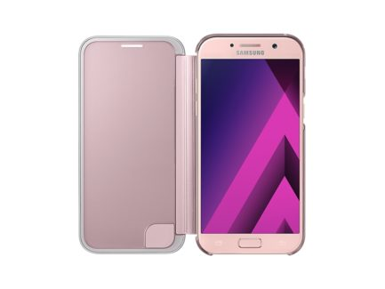чехол для Samsung A5 (2017) - Clear View Cover (Pink) купить