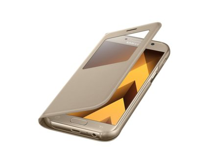 чехол для Samsung A5 (2017) - S View Standing Cover (Gold) купить