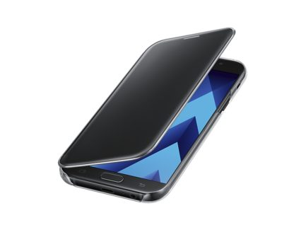 чехол-книжка для Samsung A7 (2017) - Clear View Cover (Black) купить