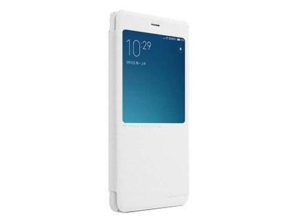 Nillkin чехол Xiaomi Redmi Note 4 - Sparkle series White купить