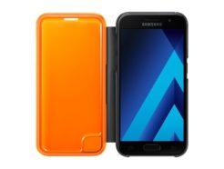 чехол для Samsung A3 (2017) - Neon Flip Cover (Black) купить