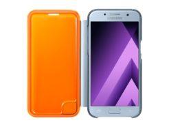 чехол для Samsung A320 - Neon Flip Cover (EF-FA320) Blue купить