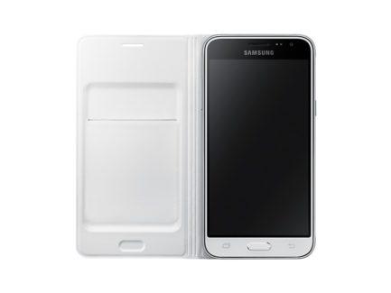 Фирменный чехол для Samsung J3/J320 - Flip Wallet (White) купить