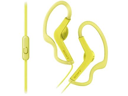 Гарнитура Sony MDR-AS210AP Yellow купить