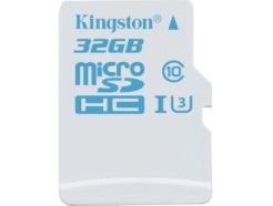 Карта памяти Kingston microSDHC 32 Gb Action UHS-I U3