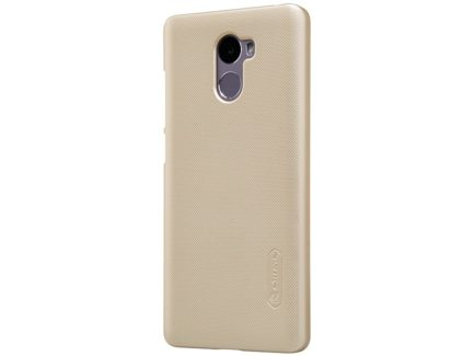 Nillkin чехол для Xiaomi Redmi 4 - Super Frosted Shield (Gold) купить