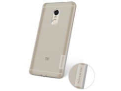 Nillkin чехол Xiaomi Redmi Note 4 - Nature TPU (Grey) купить