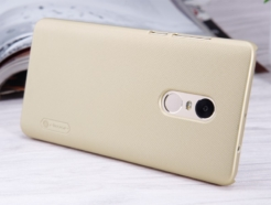 Nillkin чехол для телефона Xiaomi Redmi Note 4 - Super Frosted Shield (Gold) купить