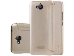Nillkin чехол для Huawei Y6Pro - Sparkle series (Gold) купить
