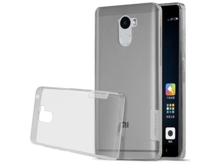 Nillkin чехол для Xiaomi Redmi 4 - Nature TPU (Grey) купить