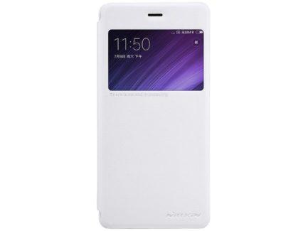 Nillkin чехол для Xiaomi Redmi 4 - Sparkle series (White) купить