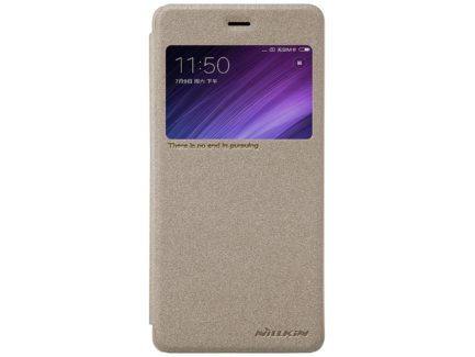 Nillkin чехол для Xiaomi Redmi 4 - Sparkle series (Gold) купить