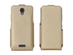чехол для Lenovo A Plus (A1010a20) - Flip Case (Gold) купить