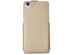 чехол для телефона Huawei Y6 II - Flip Case (Gold) купить