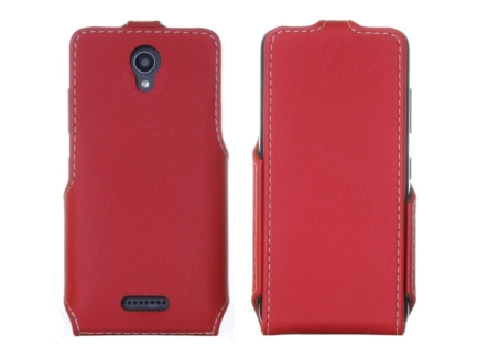 чехол для телефона Lenovo A Plus (A1010a20) - Flip Case (Red) купить