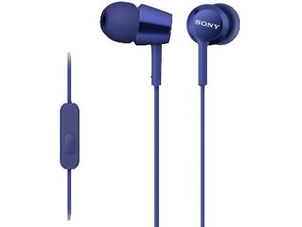 Наушники Sony MDR-EX150AP Blue купить
