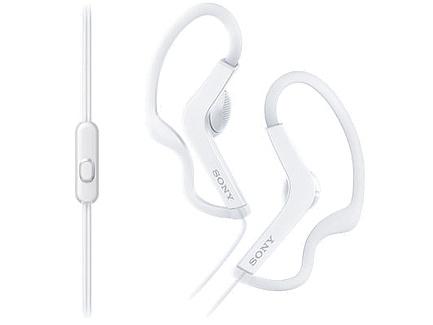 Спортивные наушники Sony MDR-AS210AP White купить